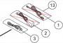 DDE1128 CABLE USB pièce n°3